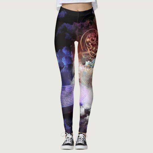 FASHION - PANTS - ZAZZLE - IN THE DREAMING LEGGINGS