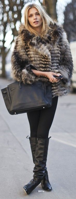 Terrific Winter street style