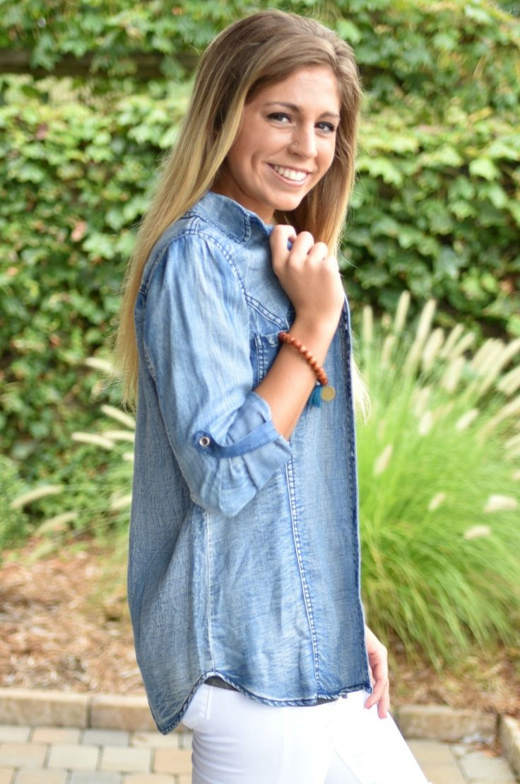 Pink Slate Boutique - Keep It Cool Button Up, $42.00 (http://www.pinkslateboutique.com/keep-it-cool-button-up/)