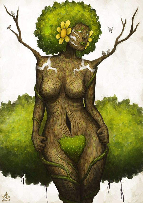 natural-queen-of-coarse:  fuckyeablackart:  Goddess of Earth by Ry-SpiritVisit fuckyeablackart.tumblr.com   I love this! http://natural-quee...