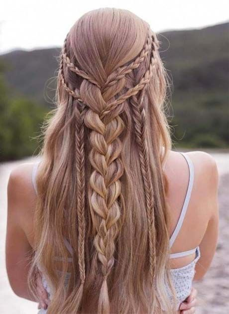 Hairstyles And Braids 2018 2019 Hair Pinterest Coiffure