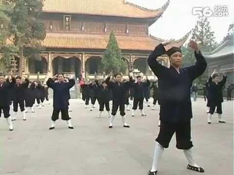 中國道教學院坤道班武當三丰太極拳 - YouTube