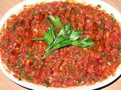 yemek bir aşk: ezme salata http://yemekbirask.blogspot.com.au/2010/08/ezme-salata.html
