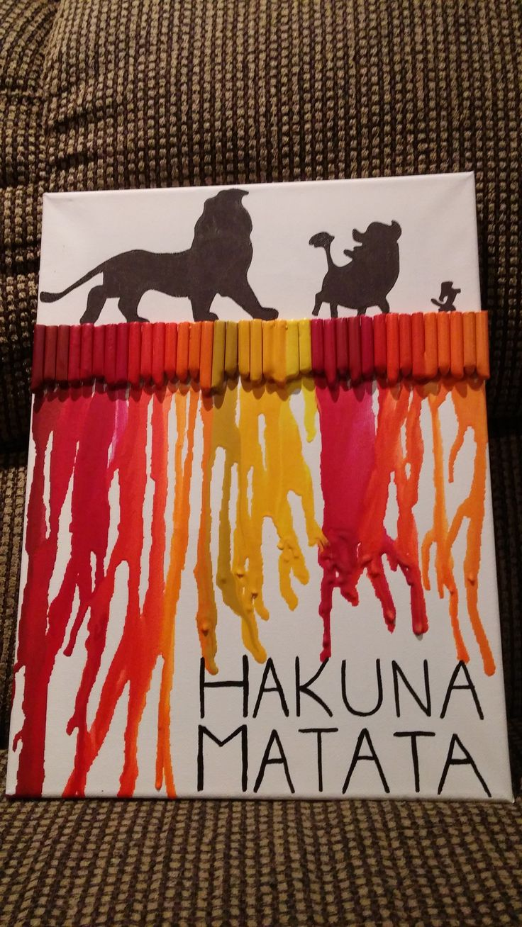 Best 25 Lion King Crafts Ideas On Pinterest Crayon Art