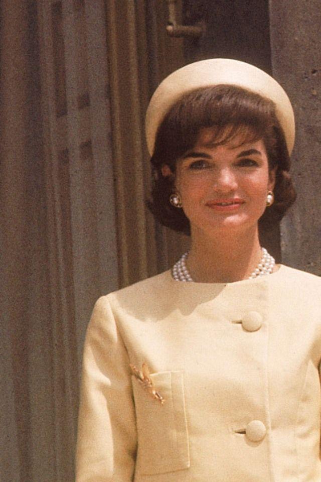 Jacqueline Kennedy in Paris, 1961.