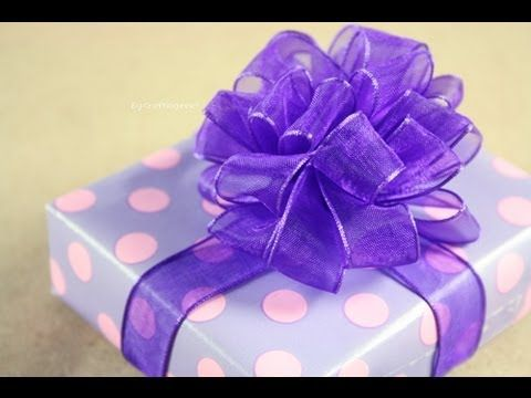 Moño Pom Pom - Puffy - How to: Gift Bows