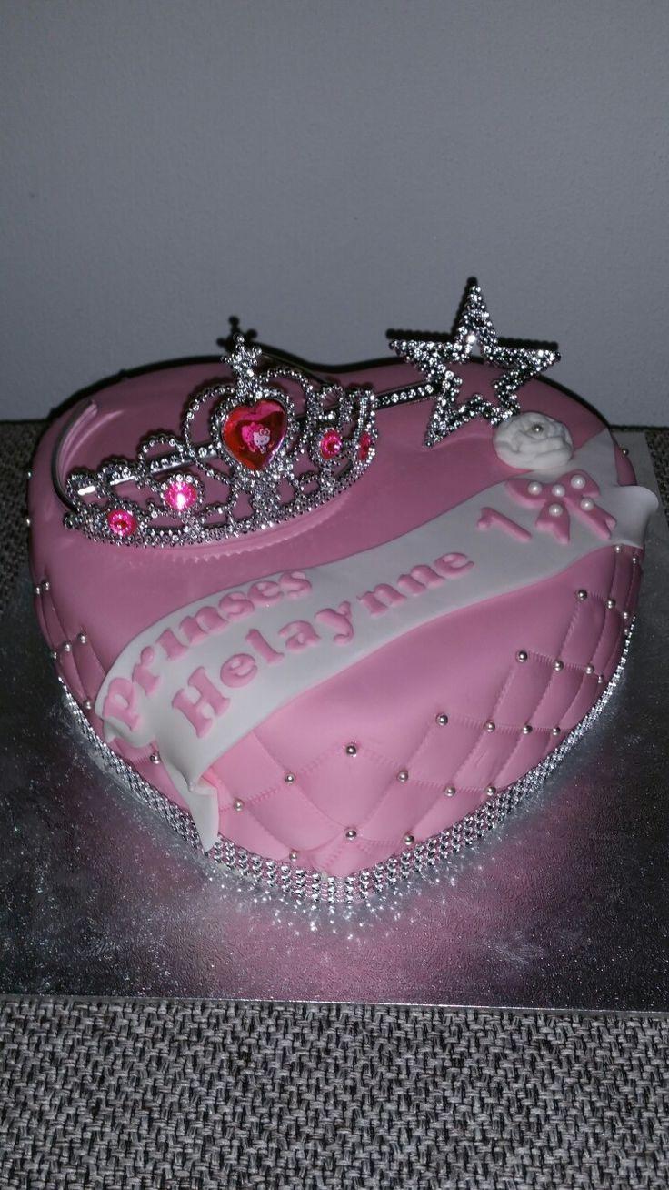Prinsessen hart taart