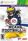NCAA Football 14 (Microsoft Xbox 360 2013) Football 2014 good condition game