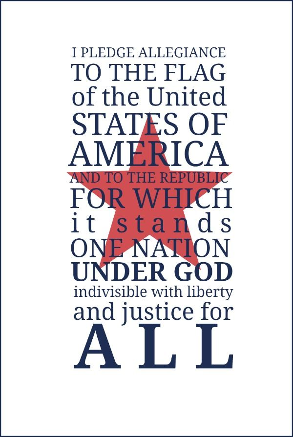 essays on pledge of allegiance in schools Recitation of the pledge of allegiance in public schools is fully consistent with  the establishment clause of the first amendment to the united.