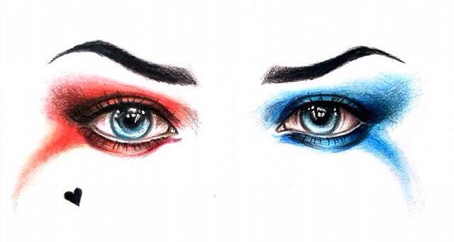 Harley Quinn Eyes ❤️