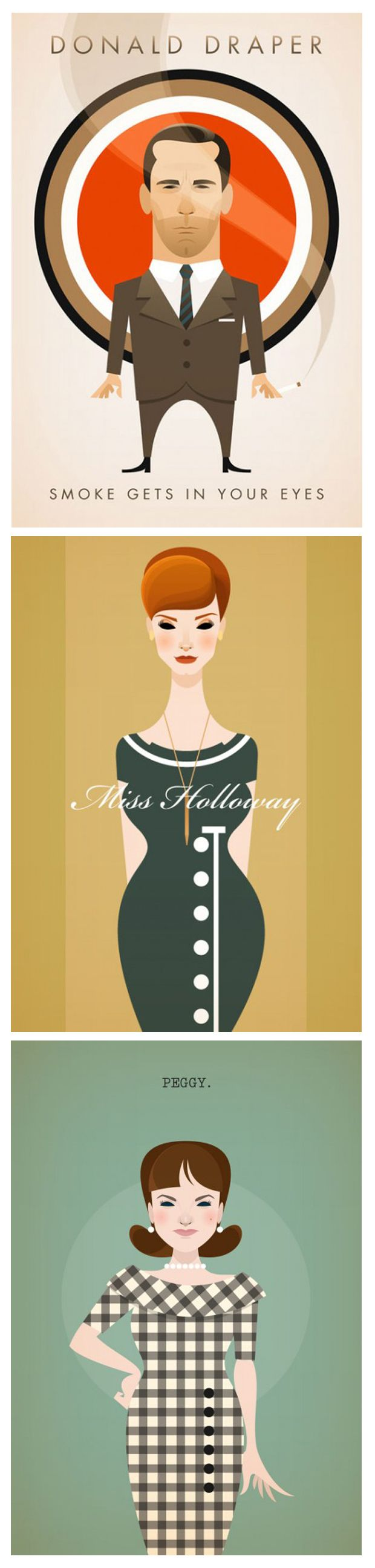 Mad Men Prints by Stanley Chow