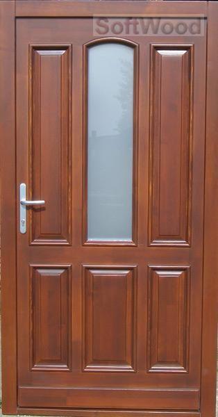 BEJ059 Fa bejárati ajtó