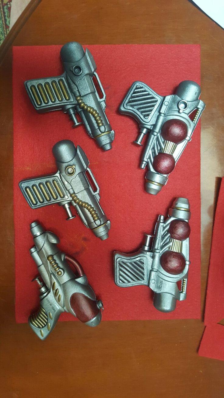 Diy space guns out of water guns