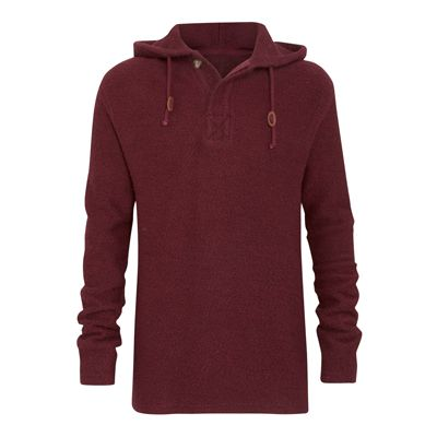 Weird Fish  Tavistock ¼ Button Jarse Knit Hoody  £75.00
