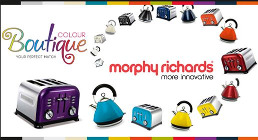 Add color to your long weekend at Drommedaris with our Morphy Richards boutique range. Which is your favorite color? #lifestyle #homedecor