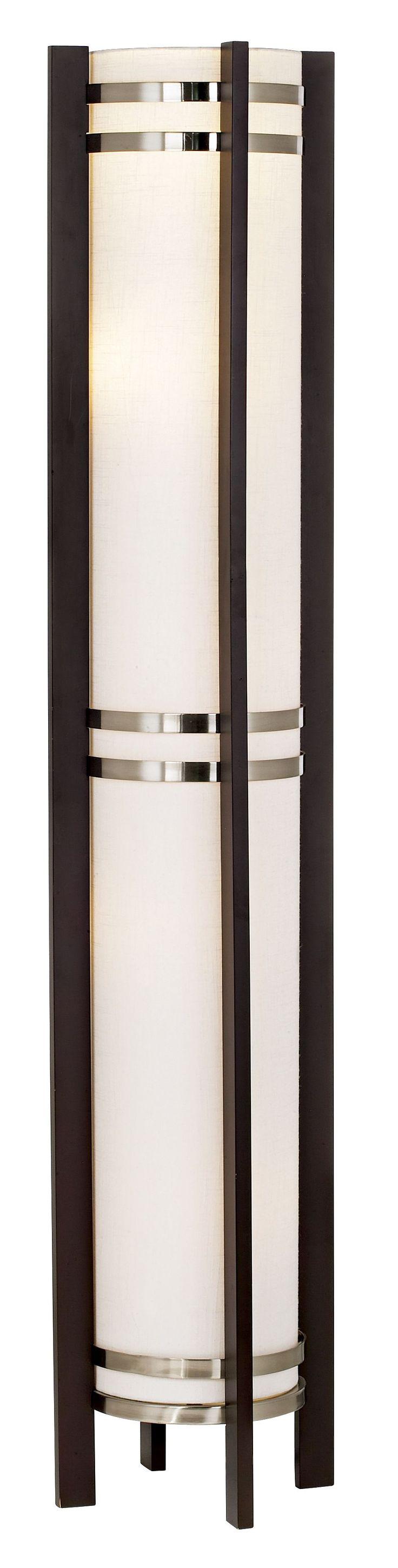 Threshold torchiere floor lamp textured bronze 65 - Possini Euro Chocolate Wood And Nickel Torchiere Floor Lamp Euro Style Lighting