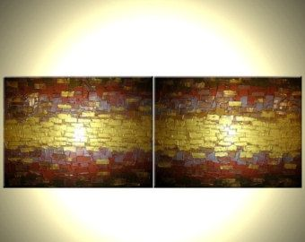 Metallic or abstrait original texturé peinture par par Laffertyart