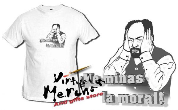 Camiseta Me Minas La Moral Lqsa Maricos Recio Avecina Antonio Recio Frase - Bekiro