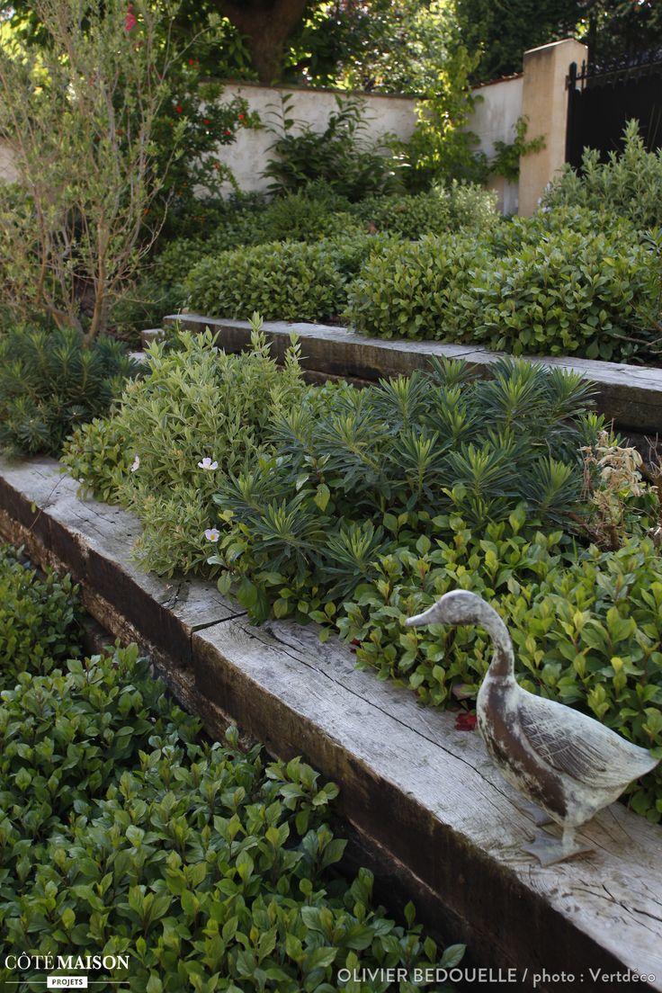 Création d'un jardin sur 3 niveaux, Olivier Bedouelle