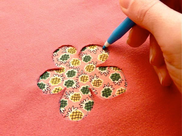 Reverse applique tutorial