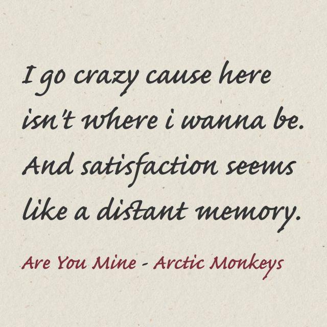 1000+ images about Arctic monkeys lyrics on Pinterest ...