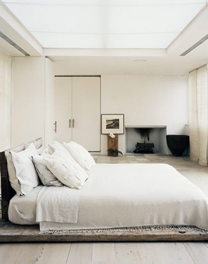 Rustic bed Simple, mais efficace