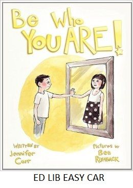 """Be Who You Are - by Jennifer Carr, illustrated by Ben Rumback. Nick was born in a boy's body, but has always felt like a girl inside. Nick's family supports him when he says he no longer wants to be called a boy or dress like a boy; """"Always remember to be who you are Nick. Remember that we love you, and we are so proud of you."""" (page 17). Nick's parents find a group for families like theirs. With their support, Nick expresses a desire to be addressed as """"she"""", and then to be named """"Hope."""""""