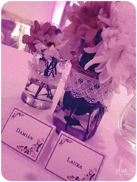 #Boda Laura & Damián Gráfica mesa principal