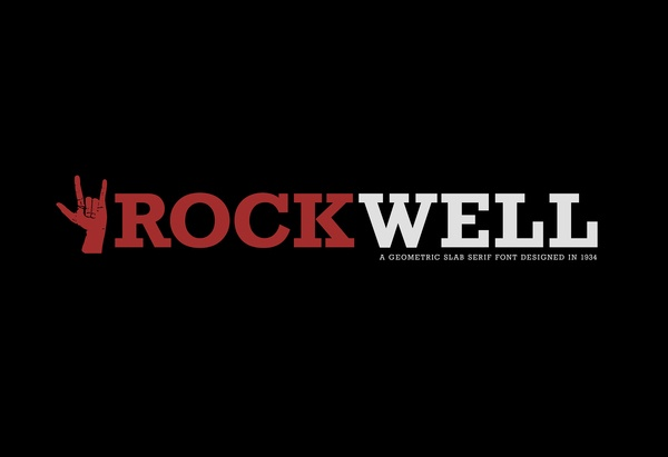 78+ images about Rockwell lettertype on Pinterest | Big ...