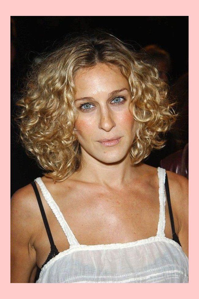 A List Celebrity Curls To Inspire 4091 Sarah Jessica Parker Haare Kurze Blonde Frisuren Lockige Frisuren