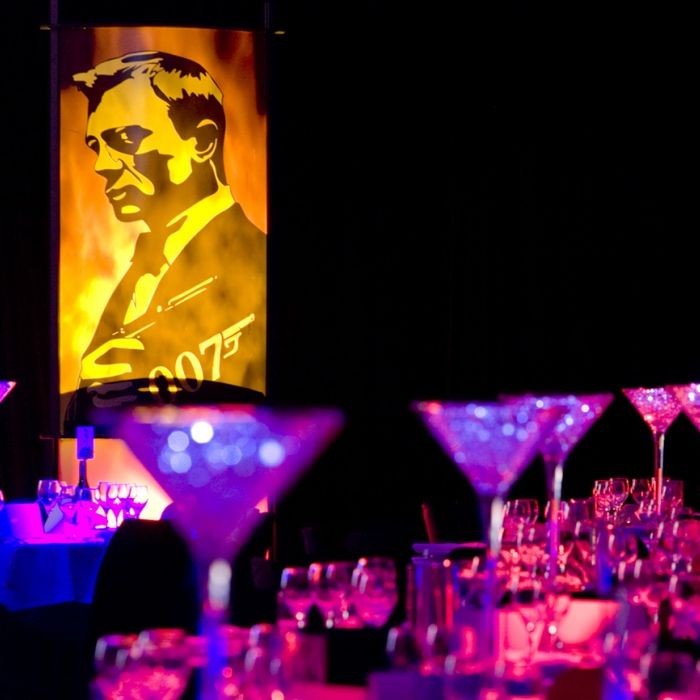 Bond Theme Gallery - Props, Centrepieces and Styling Elements | Phenomenon