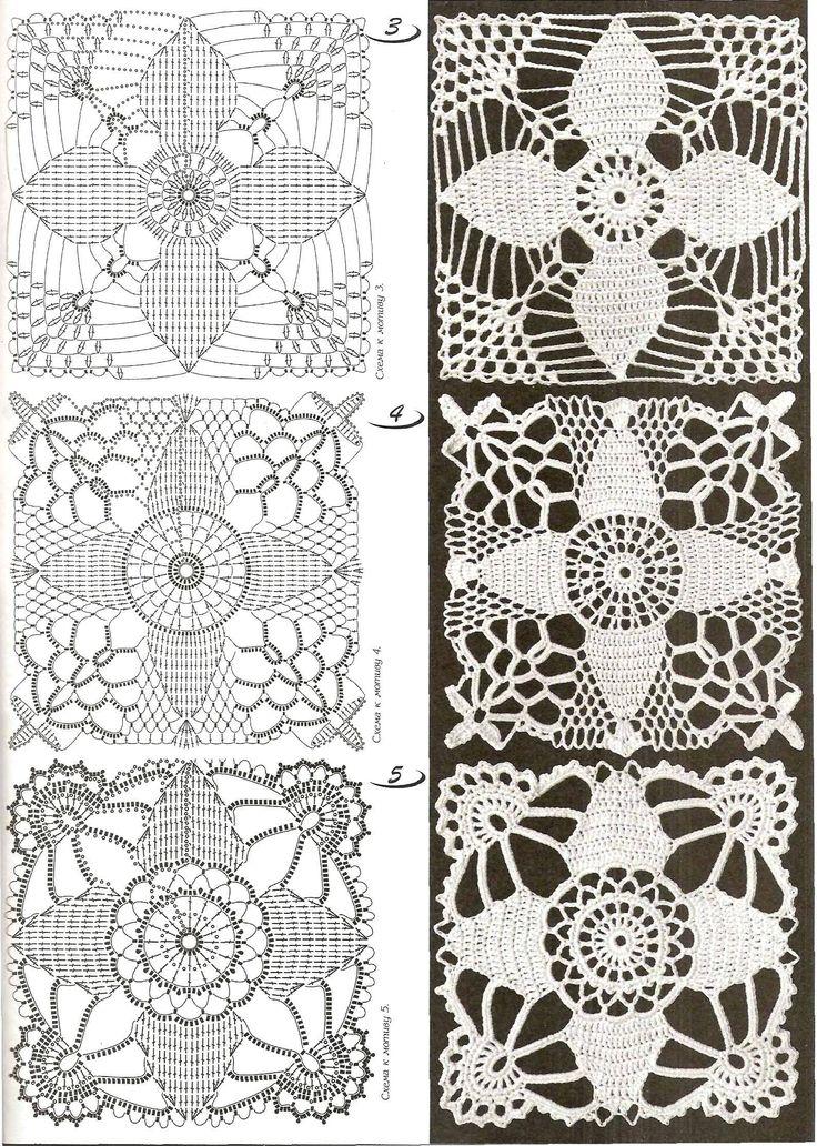 crochet lace square