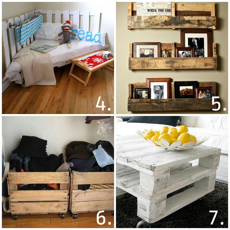 17 beste afbeeldingen over pallets op pinterest meubels doe het zelf en touw planken - Deco lounge huis schilderen ...
