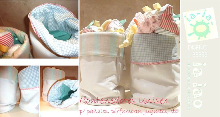 Bebes, contenedores textiles multiuso