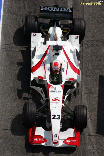 Yuji Ide (JPN) Super Aguri F1 SA05. Formula One World Championship, Rd4, San Marino Grand Prix, Practice Day, Imola, Italy, 21 April 2006 ©Super Aguri F1/Sutton Images