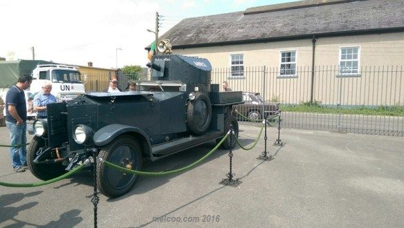 Michael Collins car during Irish Civil War
