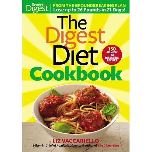 "A cookbook full of fun factoids about healthy eating and loads of great recipes, and it just happens to have ""diet"" in the title."