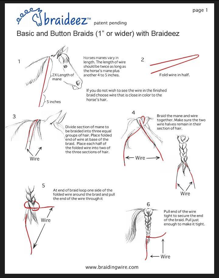 Printable Instructions On Braiding Hair