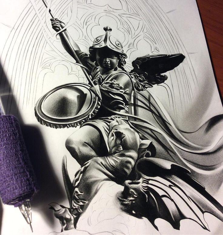 ⛏⛏⛏✏️#davidreveles #tattoospooky #art #artist #create #pencil #worldofpencils #graphite #blackandgrey #cherub #angel #progress #work