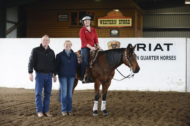 Looking for a new challenge in 2015? Find out how Horse & Hound's Storm Johnson got on when she gave reining a go [VIDEO/BLOG] at  http://www.horseandhound.co.uk/features/hhgoesreining/#Ps6P573D5zvEmPte.99