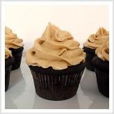 Mocha Cupcakes with Espresso Buttercream Frosting  ~These were delish!! Although, I might do the espresso buttercream with vanilla cupcakes the next time around.