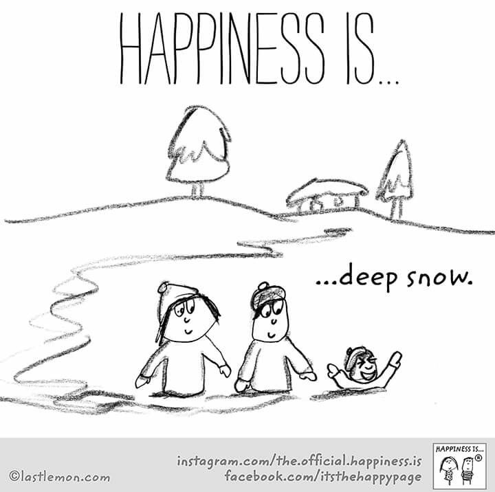 ~Happiness is Deep Snow~