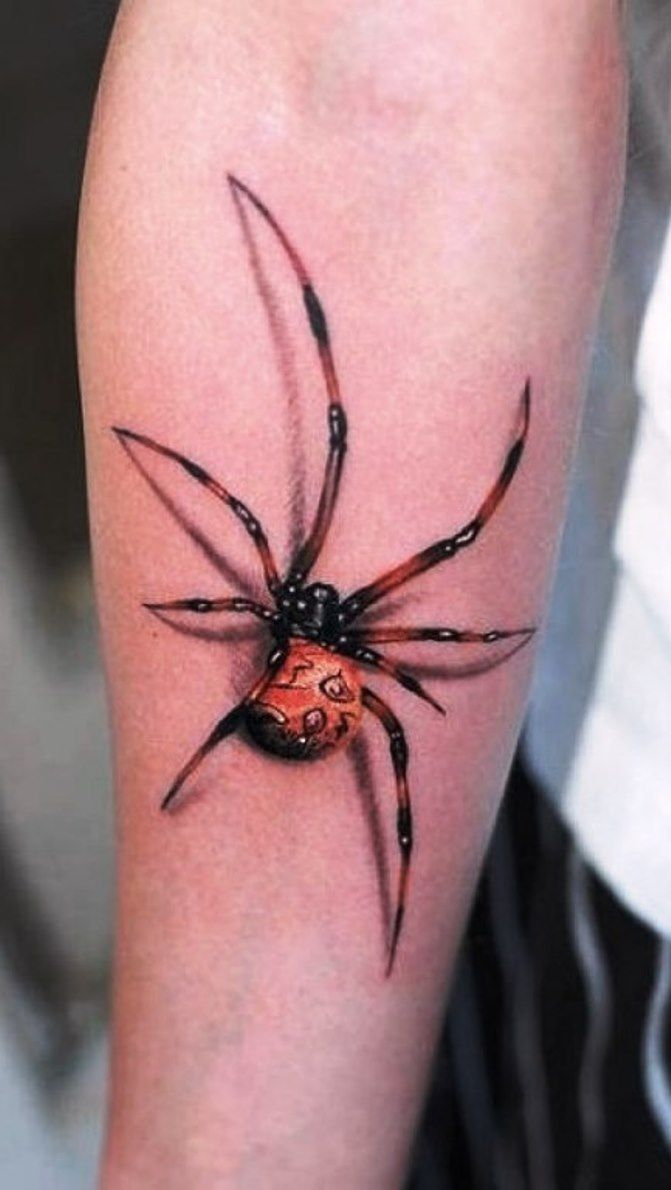 3d tattoos that will boggle your mind bizarbin - 03 3d Spider Tattoo Pictures