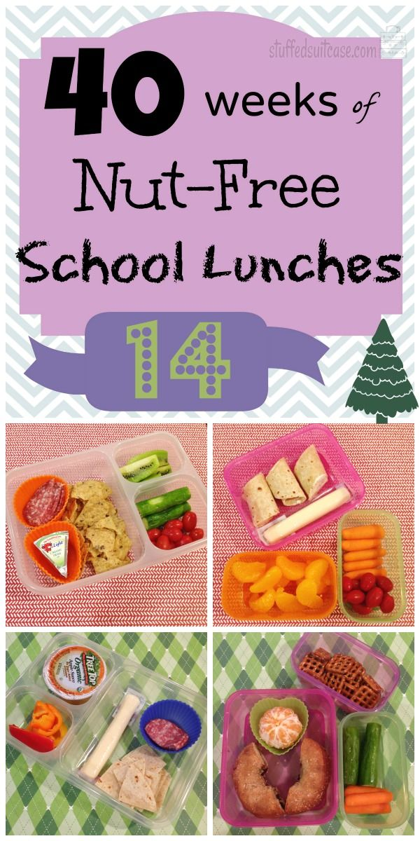 Week 14 of 40 Weeks of Nut Free School Lunches for Kids - lunchbox ideas StuffedSuitcase.com