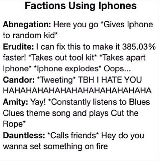 i'm dauntless, this is perfect
