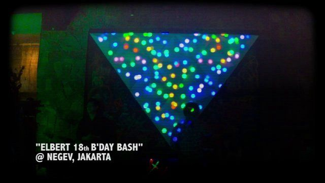 Visual Mapping Elbert 18th Bday Bash!
