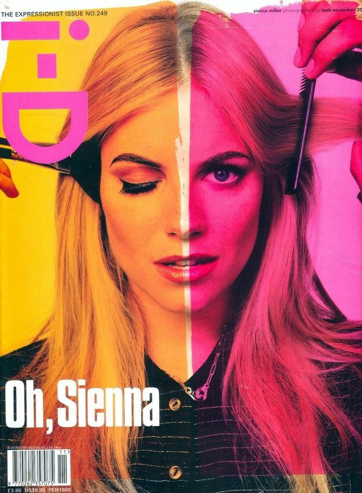 Sienna Miller for i-D Magazine