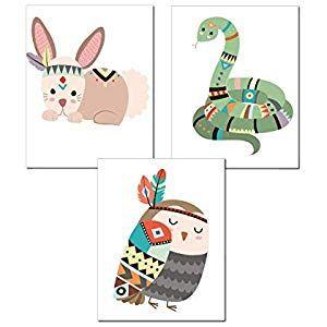 Zauberkern 3er Set Kinder Bilder – A4 Bilder ohne Rahmen   Kinderzimmer Bilder B…