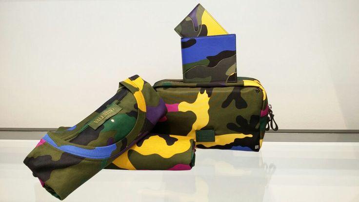 Tote Camouflage! New Men Collection FW15 Valentino Garavani