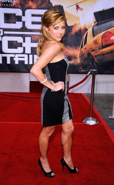 "Christine Lakin Photos Photos - Actress Christine Lakin arrives at the premiere of Walt Disney Pictures' ""Race To Witch Mountain"" at the El Capitan Theatre on March 11, 2009 in Hollywood, California.  (Photo by Frazer Harrison/Getty Images) * Local Caption * Christine Lakin - Premiere Of Walt Disney Pictures' ""Race To Witch Mountain"" - Arrivals"